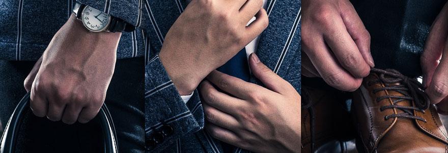 Vêtements et chaussures pour hommes
